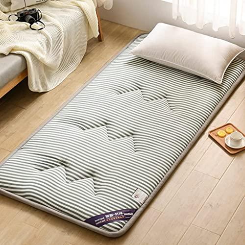 Colchones Colchón de piso japonés de Tatami, enrolle, colchón de futón, colchón para niños para el suelo, tatami plegable alfombrilla de dormir, almohadilla de colchón de dormitorio del estudiante ant