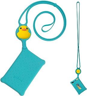 Cravatta per carte di credito, cordino in silicone con custodia per porta carte di credito, carta d'identità, chiave, rega...