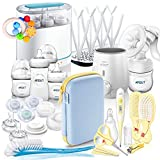 Philips AVENT Naturnah Starter-Set MEGA-SET V // All-in-One // - mit viel Zubehör - Starter Set