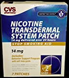 CVS Nicotine Transdermal System 7 Patches Step 2, 14 mg Habitrol Take...