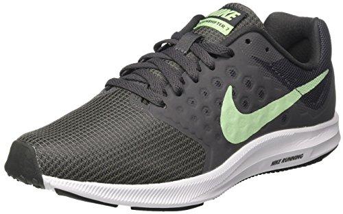 Nike Damen Downshifter 7 Laufschuhe, Grau (Anthracite/Fresh Mint-Dark Grey-White), 38 EU