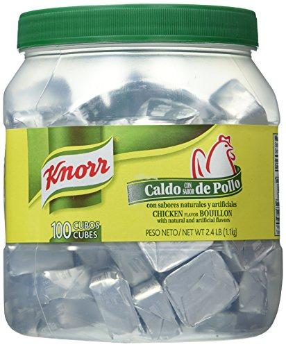 Knorr Bouillon Caldo De Pollo 100 Cubes