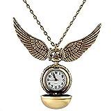 HarryPotter Uhr Anhänger Quidditch Schnatz Vergol