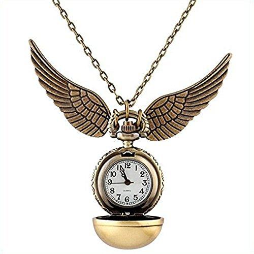Harry Potter - Reloj Quidditch Snitch Dorada