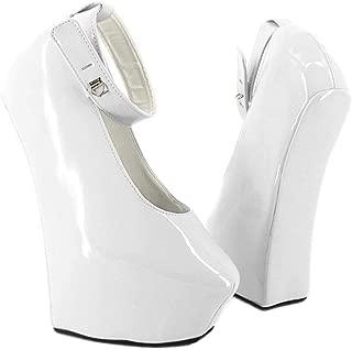 Heelless Hoof Women Pumps Ankle Straps Platform Fetish High Heels Shoe Multi Colors