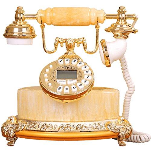 Telefono LINGZHIGAN Natural de Huang Yun Jade Piedra Europea de Estilo clásico de la Cadena de la Oficina Creativo de Modo
