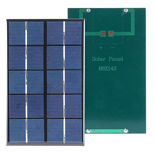 Redxiao 【 】 Panel Solar portátil de 1,9 W, Cargador de batería...