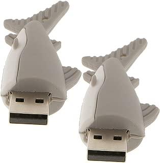 フラッシュドライブ 32GB&16GB USBメモリ サメ型 USBメモリースティック