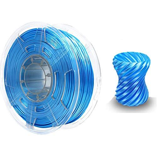 Night K Pearl PLA 3D-Druckerfilament 1,75mm Für 3D-Drucker- Und 3D-Stift-Dimensionsgenauigkeit +/- 0,03 Mm,1kg Blue