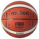 molten(モルテン) バスケットボール 小学生用 5号球 国際公認球 BG3800 FIBAスペシャルエディション オレンジ×アイボリー B5G3800-S0J