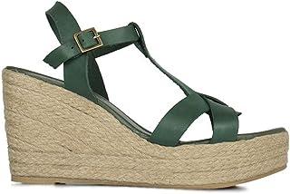 Erkan Kaban 5027 677 Kadın Yeşil Sandalet Ayakkabı 42