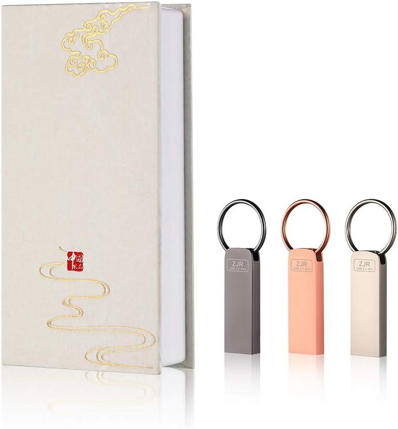 USB Flash Drive 64gb 3 Selling rankings Metal Memory Surprise price Pack Thumb Jump