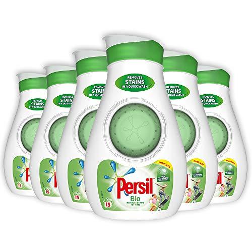 Persil - Líquido de lavado (525 ml, Bio, 6 unidades)