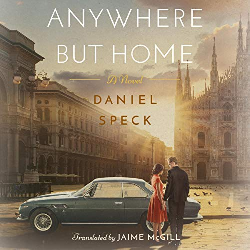 Anywhere but Home audiobook cover art