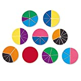 Learning Resources- Círculos Rainbow Fraction Deluxe, Color (LER0617)