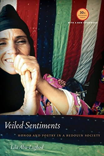 Abu-Lughod, L: Veiled Sentiments - Honor and Poetry in a Bed: Honor and Poetry in a Bedouin Society