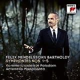 Felix Mendelssohn Bartholdy: Sinfonien Nr. 1-5
