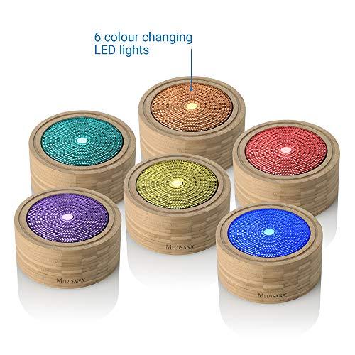 Medisana AD 625 Difusor de Aromas de bambú,...