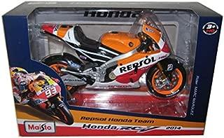 2014 Repsol Honda #93 RC2 13V Marc Marquez Motorcycle Model 1/10 by Maisto 31406 MA by Maisto