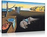 Salvador Dali Persistance Of Time Kunstdruck auf Leinwand,