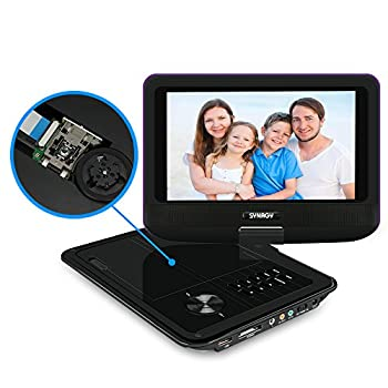 SYNAGY A19, 9-Inch Portable DVD Player & CD Player