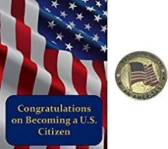 Best New Citizenship Congratulations Card and Proud to be an American Pin Gift Set Review
