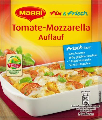 MAGGI fix & frisch für Tomate-Mozzarella Auflauf, 40er Pack (40 x 34 g)