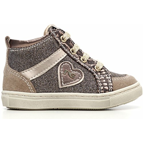 Nero Giardini Junior , Chaussures premiers pas pour bébé (fille) - - Velour Dracena, 21 EU