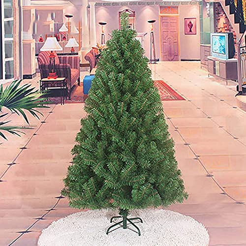 LSDRALOBPOI Albero di Natale Natale Albero Alberi di Natale Decorazioni Natalizie Artificiali Albero di Natale 813(Color:Green;Size:5ft/150cm)
