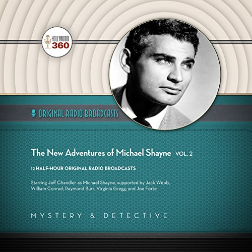 The New Adventures of Michael Shayne, Vol. 2 cover art