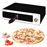 MovilCom® - Horno para pizza electrico | Horno electrico de sobremesa | Mini horno pizza | Pizza maker