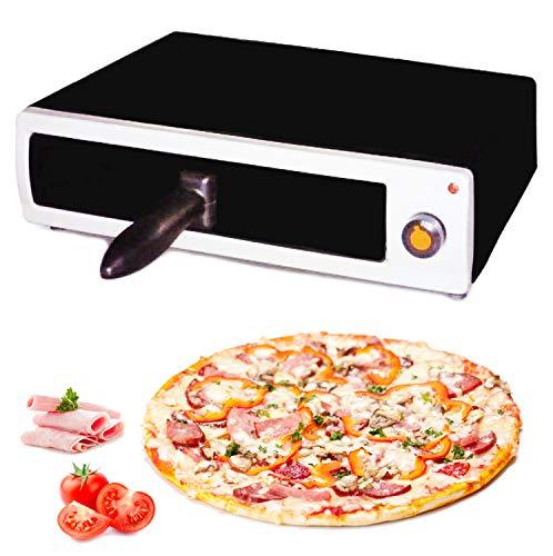 MovilCom® - Horno para pizza electrico | Horno electrico de sobremesa | Mini horno pizza | Pizza maker
