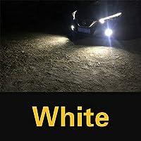 2x canbus ledフォグライトランプ電球H8 H11 H16 9006 HB4 HB3 PSX24Wためにトヨタカローラchr aurisヤリスrav4 ハイラックスアベンシスt25-White-9005 (HB3)