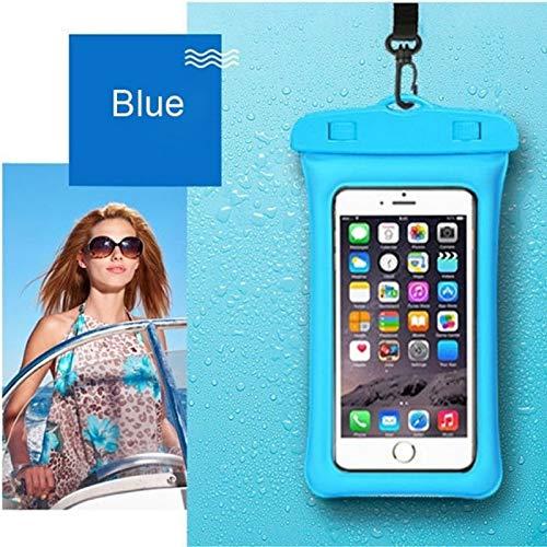 J.AKSO Airbag - Bolsa impermeable flotante para natación o teléfono móvil, bolsillo para teléfono móvil, para nadar, buceo, surf Beach