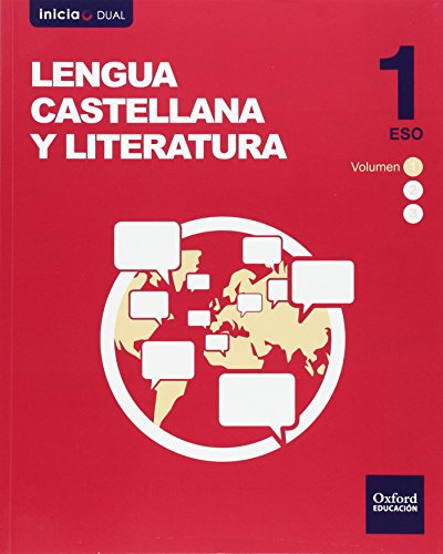 Pack Lengua Castellana Y Literatura. Libro Del Alumno. ESO 1 - Volúmenes Trimestrales (Inicia Dual) - 9788467384727