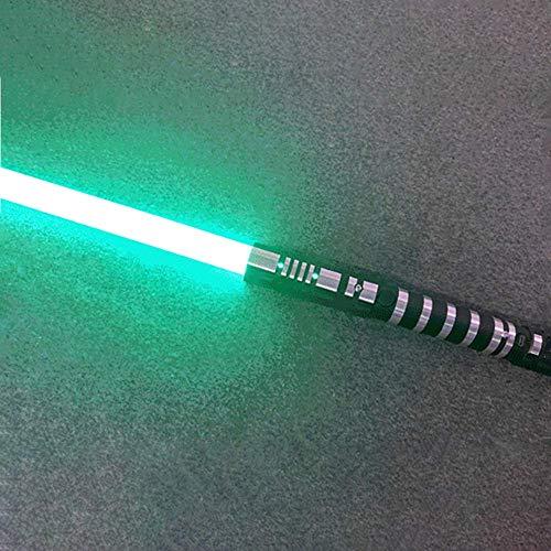 YXCC Lichtschwert Lichtschwert Star Wars Lichtschwert Essstäbchen Lichtschwertklinge RGB-Lichtschwert mit variablem Licht und Soundeffekt Star Wars RGB Metall abnehmbares Lichtschwert