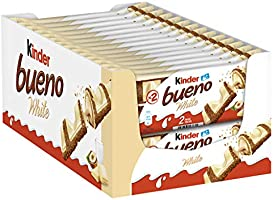 Kinder Bueno - White (Pack de 30 x 2 unidades)