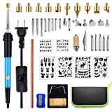 Wood Burning Kit, DIY Wood Burning Tools with On-Off Switch Temperature Controlled Professional