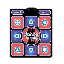 LSJ SHOP Estera de la aptitud de baile, alfombra de baile de moda, alfombra de baile del USB del ordenador, alfombra de baile de juegos interior juegos individuales de fitness