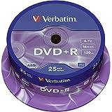 バーベイタム DVD+R 16X 4.7GB Branded