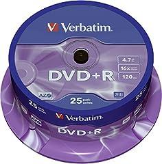 Verbatim 16x Matt Silver 4.7GB