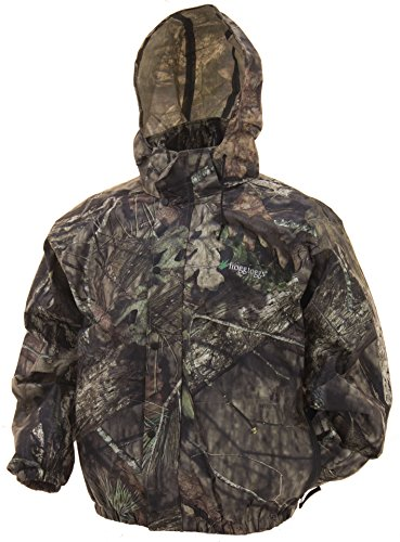 Frogg Toggs Pro Action Camo Jacket, Mossy Oak Break Up Country, Large
