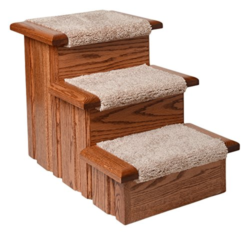 Premier Pet Steps Tall Raised Panel Dog Steps