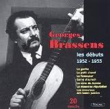 Les Débuts 1952-1953 von Georges Brassens