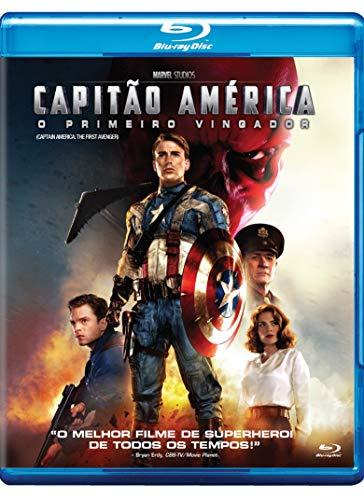 Capitão América O Primeiro Vingador [Blu-ray]