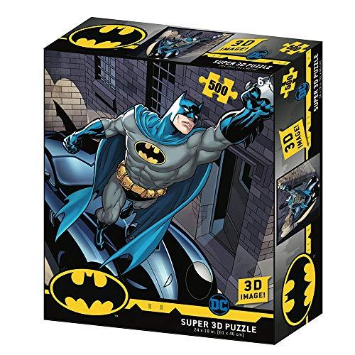 Prime 3D Redstring-Puzzle lenticular DC Comics Batmobile 500 Piezas (Efecto 3D)