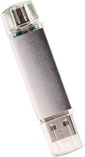 ذاكرة فلاش FRCOLOR OTG USB سعة 32 جيجابايت ذاكرة ستيك يو إس بي قلم محرك أقراص الإبهام لتخزين البيانات ومحرك القفز للهاتف ا...