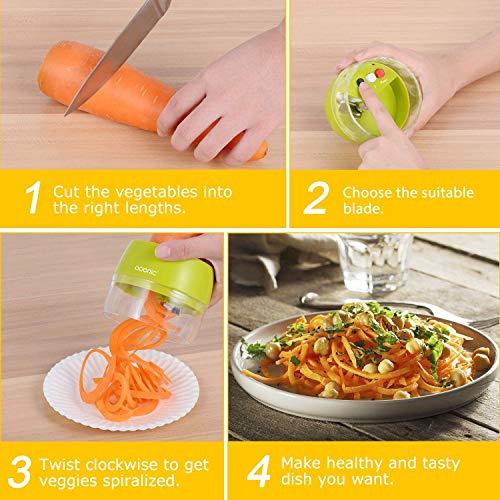 ADORIC Cortadores para patatas y vegetales
