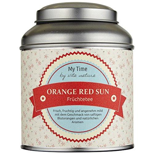 My Time Orange Red Sun, Früchtetee Blutorange, 1er Pack (1 x 120 g)