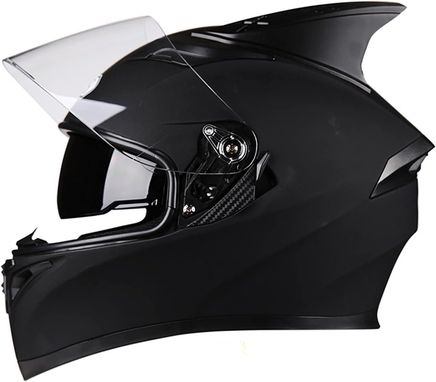 SDKUing Double Visor Full Face Motorcycle DOT price M Approved mart Helmet
